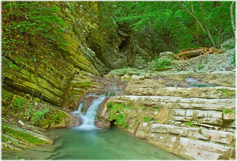 водопады в Тенгинке