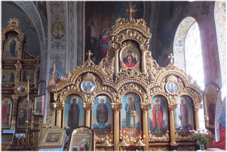 фото икон в соборе