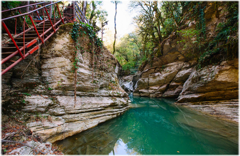фото каньона реки Псахо