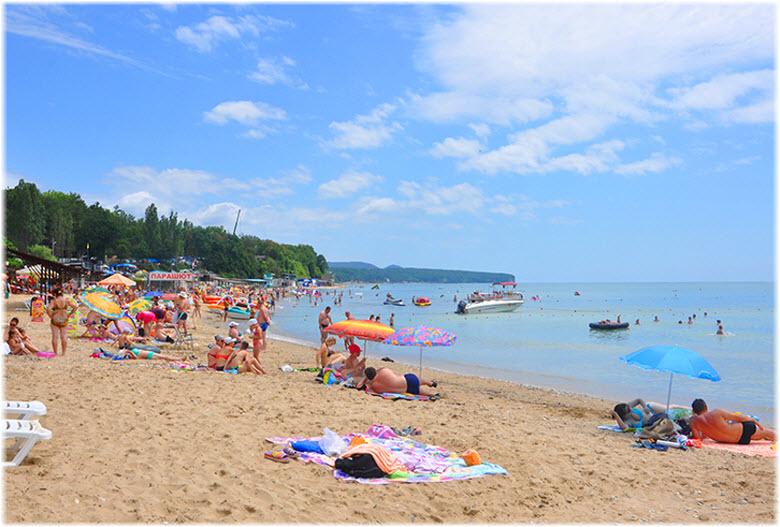 фото на пляже Золотой берег