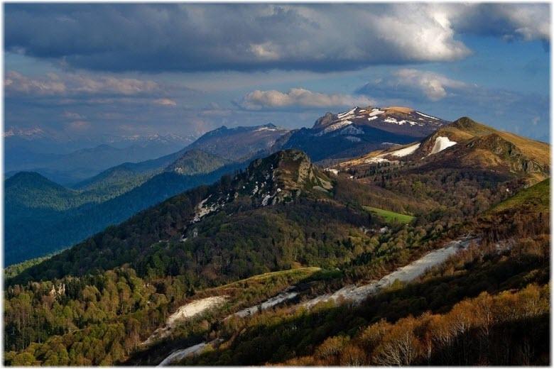 гора Семиглавая в Туапсе