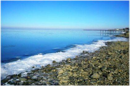 Городской пляж Приморско-Ахтарска