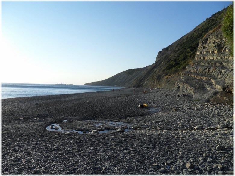 Нудистский пляж в Утрише