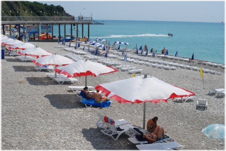 пляж Гамма