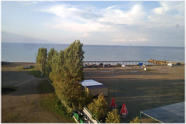 пляж лагеря Морская сказка