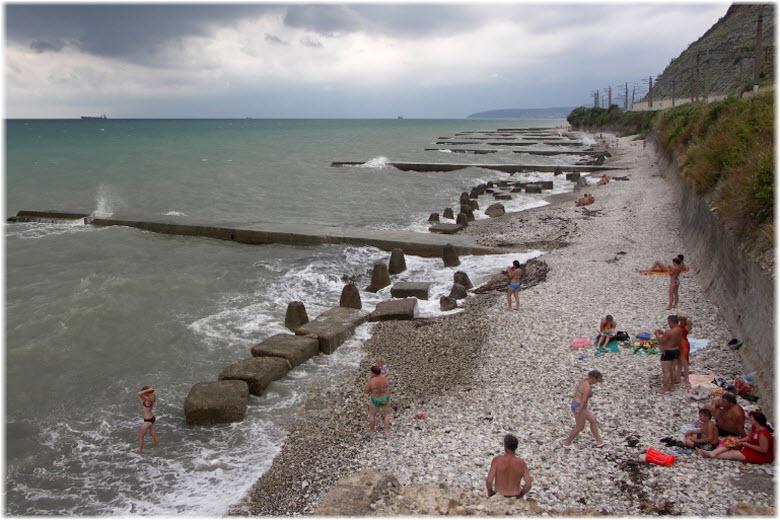 пляж Салют
