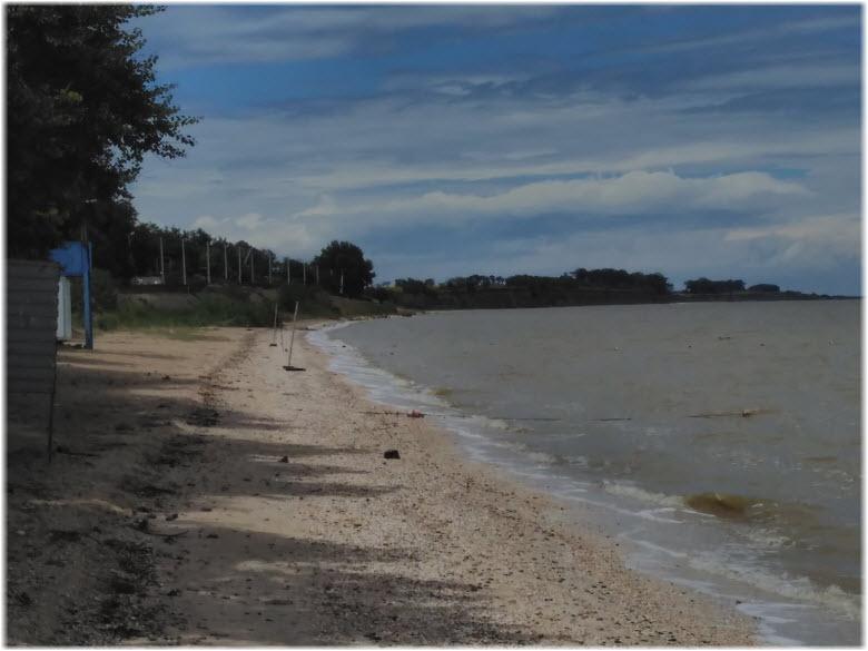 пляж Тамаровский