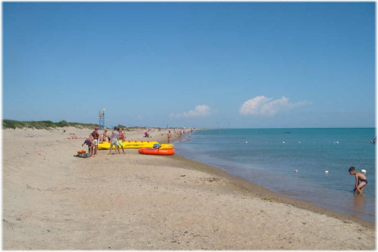 пляж Веселовки