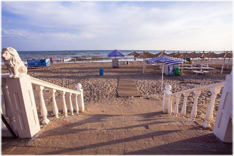 Лазурный берег краснодарский край поселка и пляжа 3