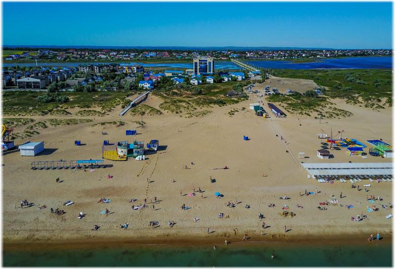 Центральный пляж Благовещенки