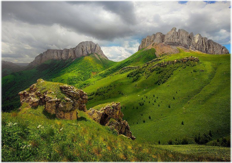 фото на перевале летом