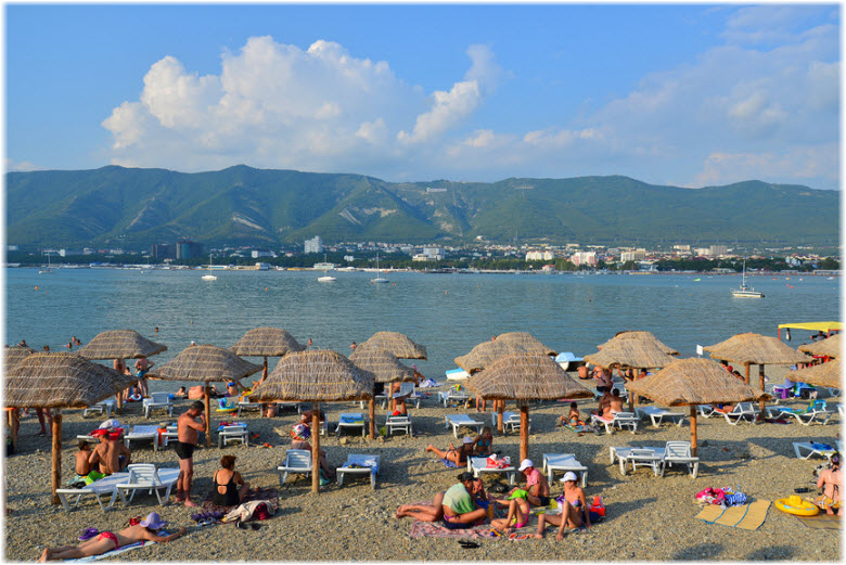 фото пляжа Сады морей