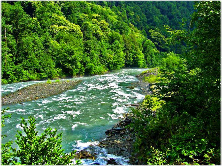 фото реки Мзымта