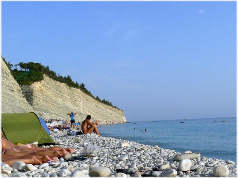 фото с Нудистского пляжа поселка Дивноморское