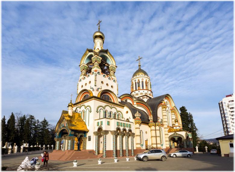 фото Свято-Владимировской церкви в Сочи