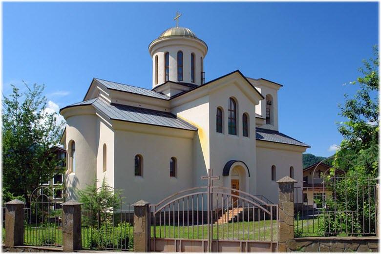 Храм св. Харлампия в Красной Поляне