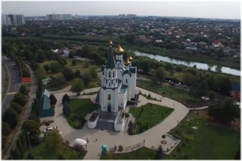 Храм Святого Духа в Краснодаре