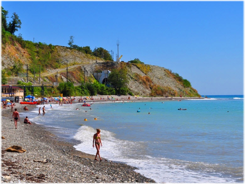 пляж Буревестник-2