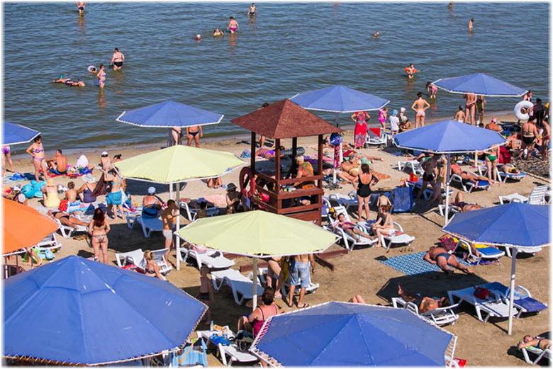 пляж Елисеевский