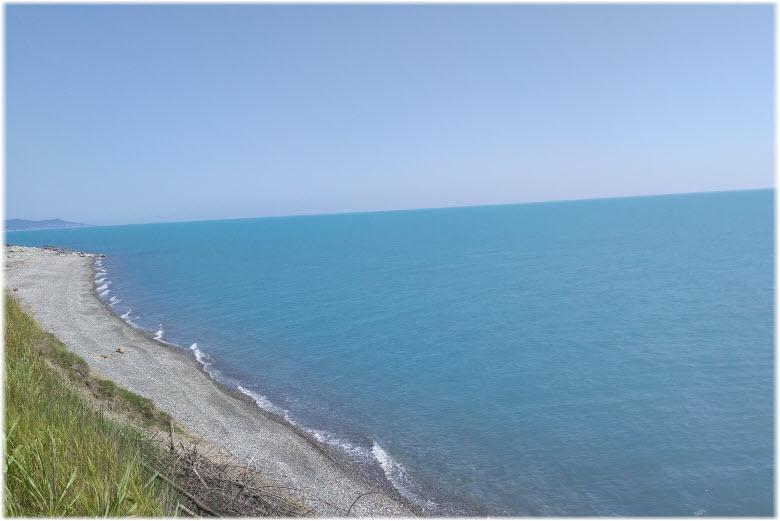 пляж Лазурный берег в Головинке