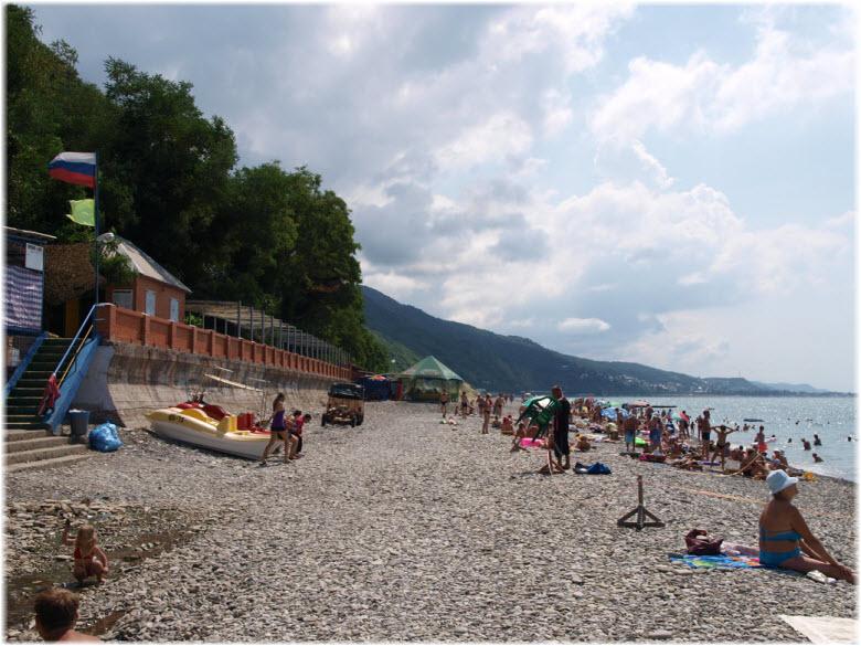 Лазурный берег краснодарский край поселка и пляжа 26