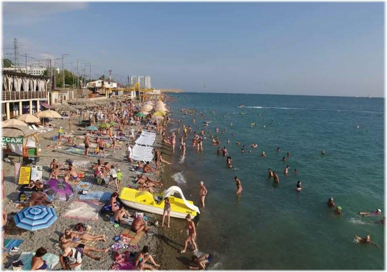 пляж Свирский