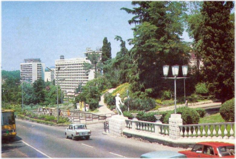 старые фото Курортного проспекта