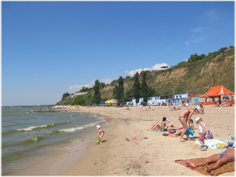 Центральный пляж Таганрога