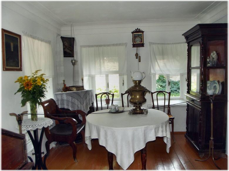 гостиная в музее А П Чехова