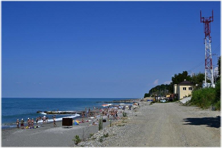 пляж Золотой якорь