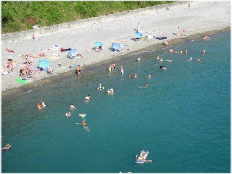 пляж Агама