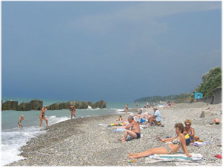 пляж Детляжка