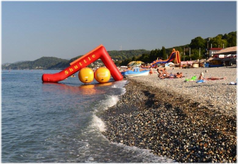 пляж Горный воздух