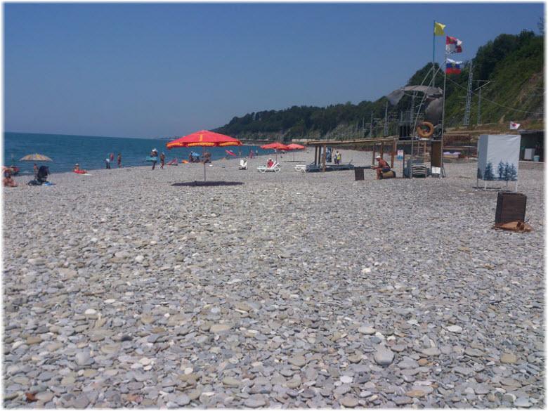 пляж Катковой Щели