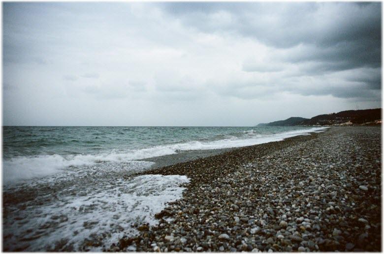 пляж Кучук-Дере