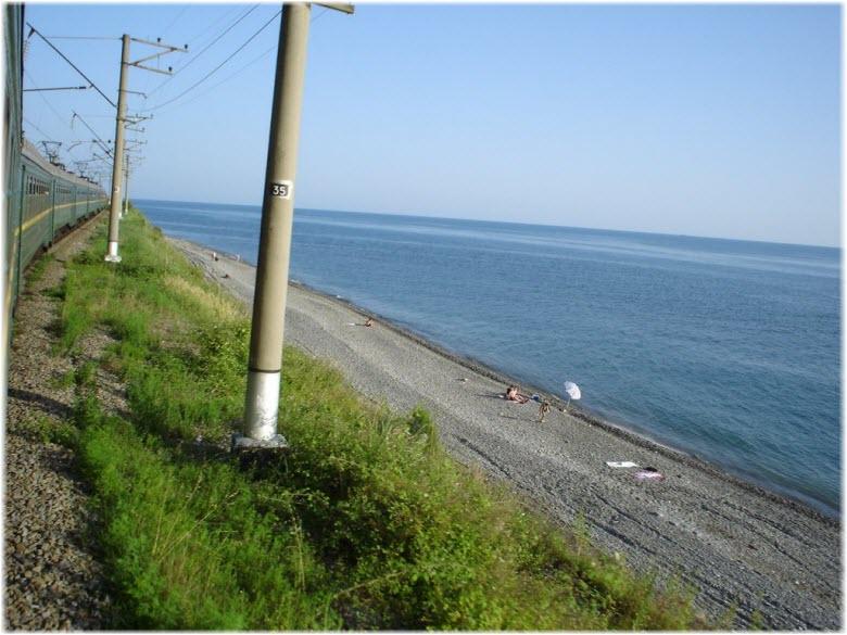 пляж под Глинищем