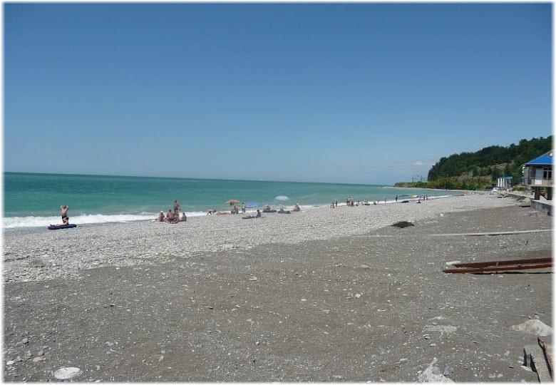 пляж санатория ВВС