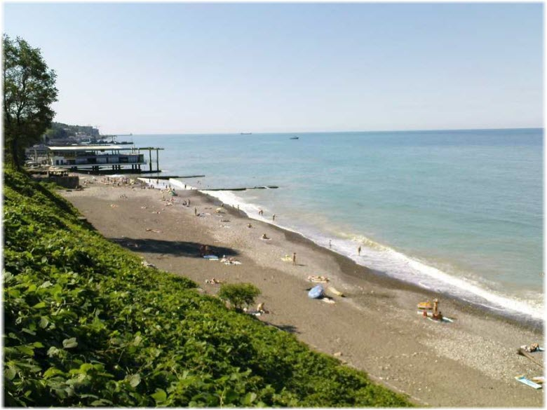 пляж Санта-Барбара