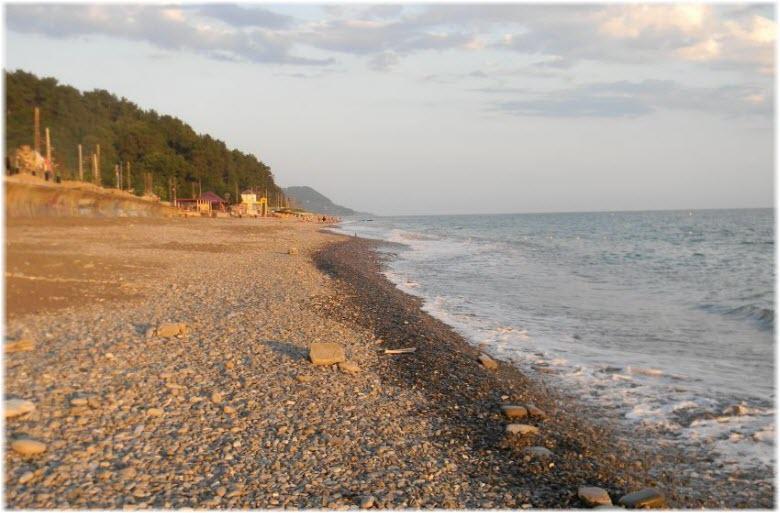 пляж Сказка