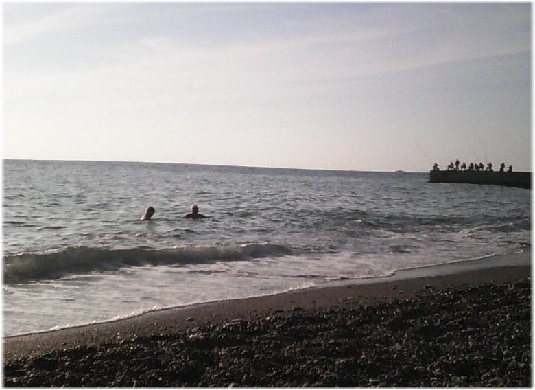 пляж у НИИ