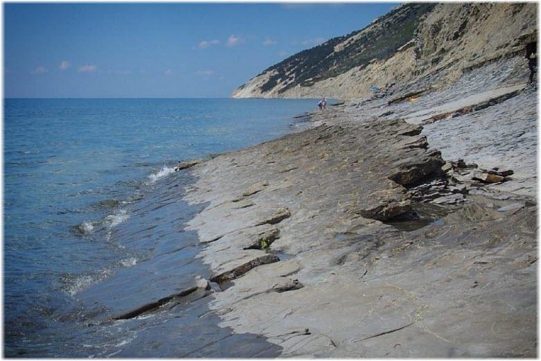Пляж Варваровская щель
