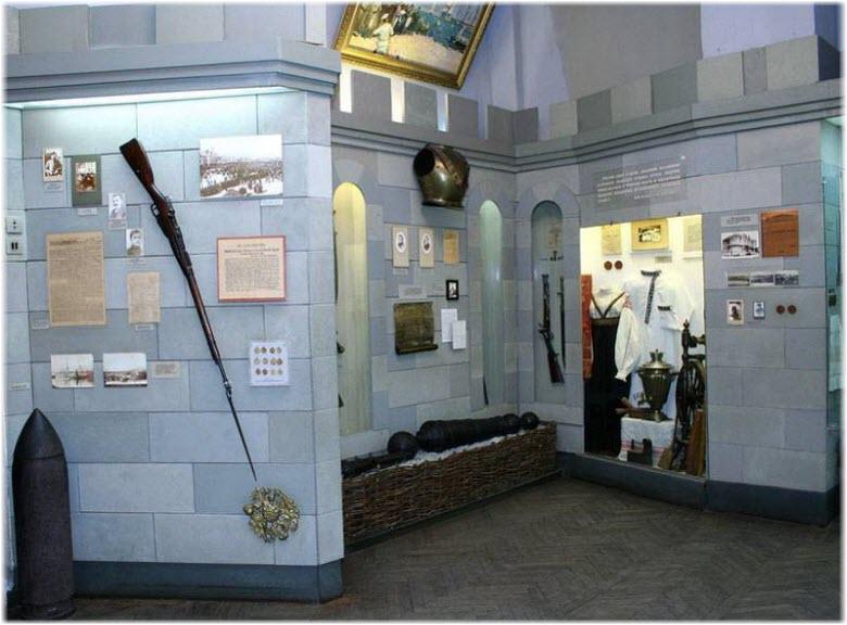 экспонаты учреждения