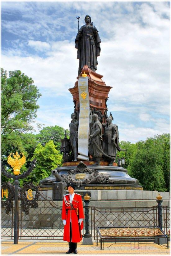 фото памятника Екатерине 2
