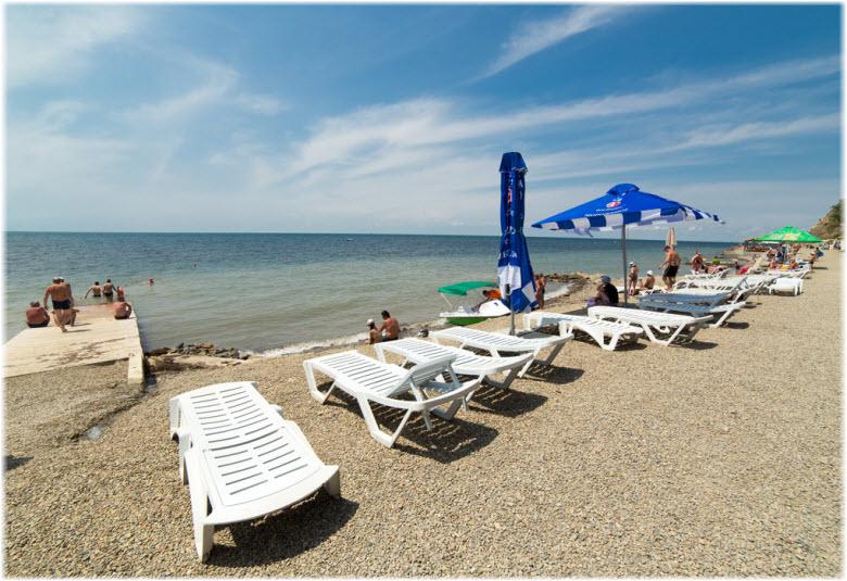 фото с пляжа Малая бухта