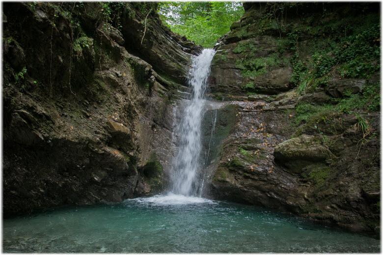 Ивановский водопад в Сочи
