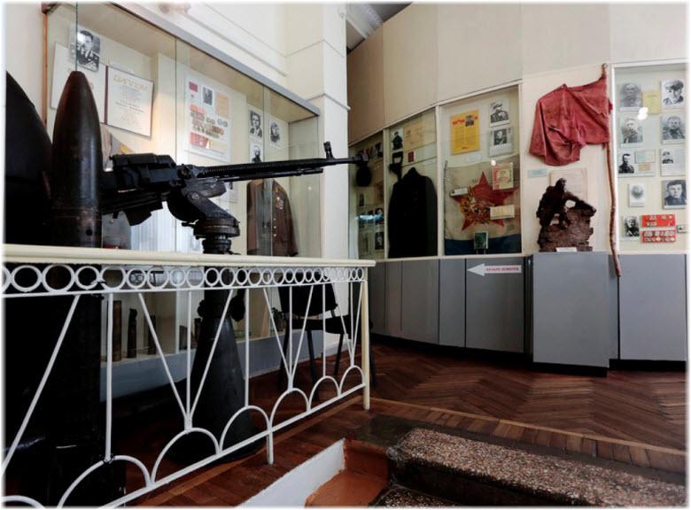 оружие в музее-заповеднике