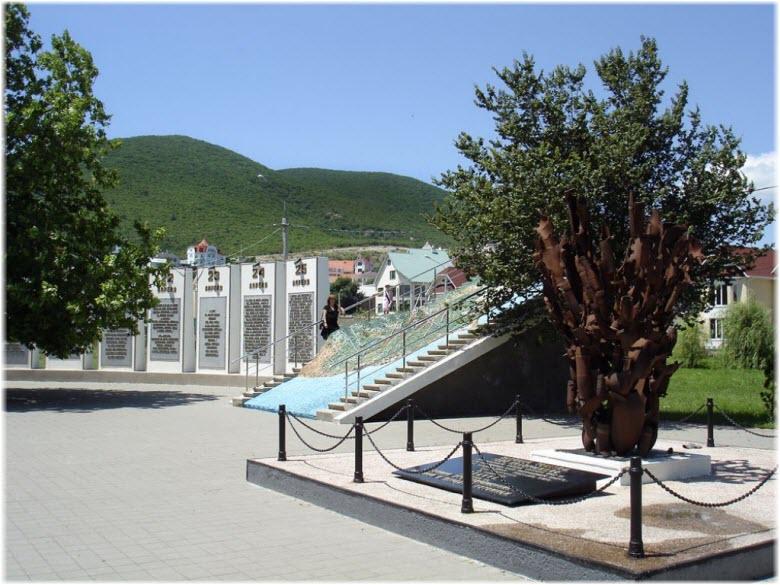 памятник Взрыв
