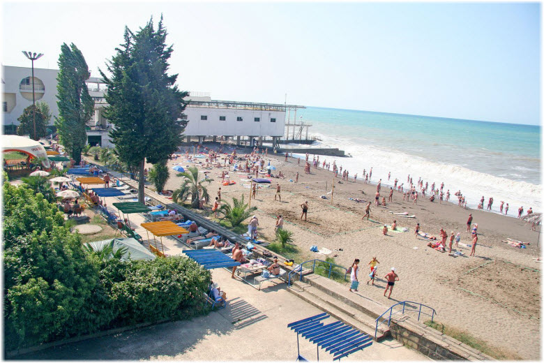 пляж Бургас