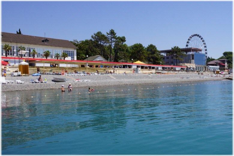 фото пляжа Мандарин