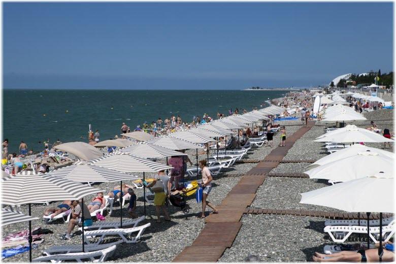 Пляж Екатерининского квартала